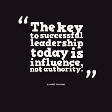 Le leadership: une capacité d'influence.