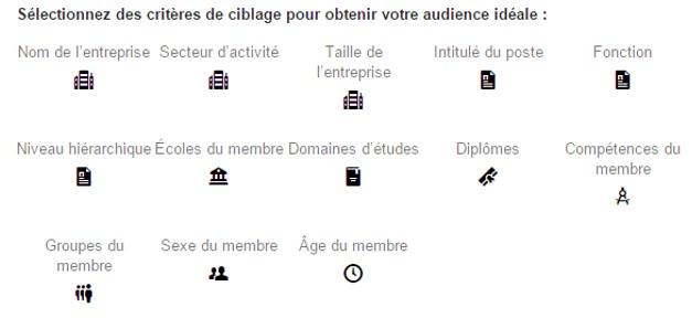 Ciblage LinkedIn